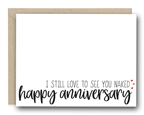 Funny Love Card - Babe, I still love to see you naked - Love Card, Anniversary