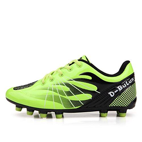 Xing Rotte Scarpe Calcio Unghie Da Verde Lin Giovanili Fluorescente 39 Allenamento Colla Di Calcio q4qxawSgWr