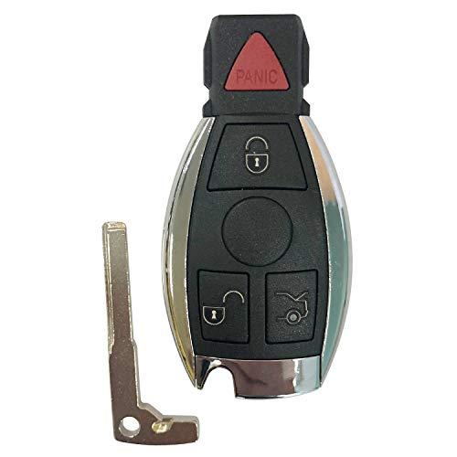 Replacement for Mercedes-Benz IYZ3312 Keyless Entry Remote Car Key Fob Control,FCCID:IYZ3312,by AUTOKEYMAX -