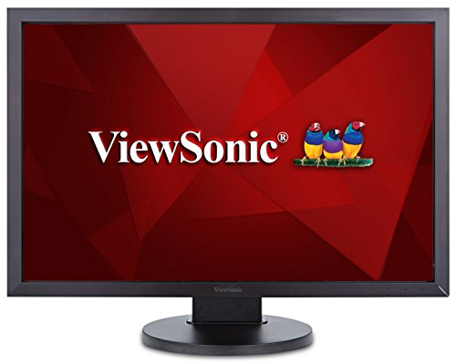 "ViewSonic VG2438SM 24"" IPS 1200p Ergonomic Monitor DisplayPort, DVI, VGA"