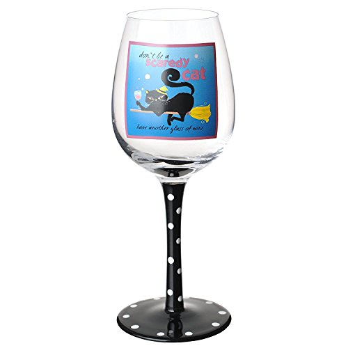 Wine Glass,  Cat