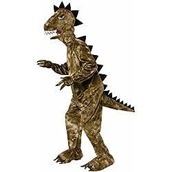 Forum Novelties del dinosaurio plush Mascot Costume, color Verde, talla Una talla