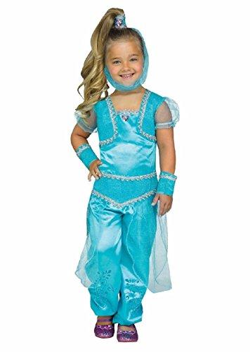 Glimmer Genie Shine Toddler Costume Aqua