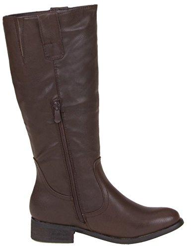 Ladies Winter Shoes Boots Women's Boots Winter Boots Dark Brown z1jCBz