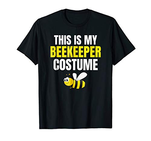 This Is My Beekeeper Costume Funny Halloween T-Shirt ()