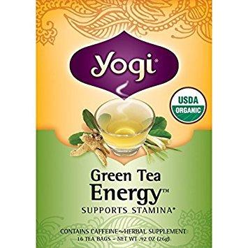 Yogi Tea, Green Energy, 16 Bags (Bags Energy 16 Tea)