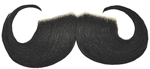 Mustache 20s Style Black by Halloween FX