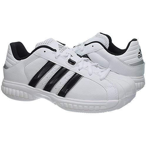 adidas - Zapatillas de baloncesto para hombre blanco blanco 18 UK ...