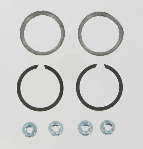 James Gasket Exhaust Port Gasket Kit - Graphite Wire Gaskets and Heavy-Duty Hex Nuts - Gasket Port