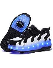 Maat 27-43 Kinderen Lichtgevende Wiel Sneakers Jongens Meisjes Rolschaatsschoenen Met Verlichting Voor Kinderen Usb Oplaadbare Led Wielen Schoenen