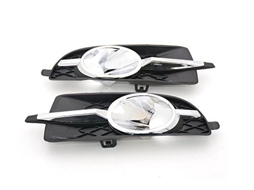 Fit For Buick 1Pair New Front Fog Light Lamp Cover Trim Bezels Generic Lacrosse 2010-2013