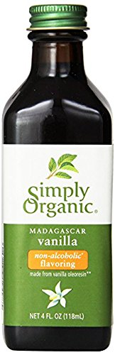 Simply Organic Vanilla Flavoring, 4 Ounce (2 Pack) (Extract Express Alcohol)