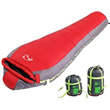Autumn and winter outdoor sleeping bag/Mummy style sleeping bags warm skin-friendly camping/Outdoor camping adult sleeping bag