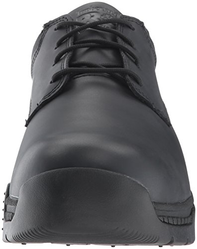 Timberland Pro Mens Valor Duty Soft Toe Oxford Militare E Tactical Boot Nero In Pelle Liscia