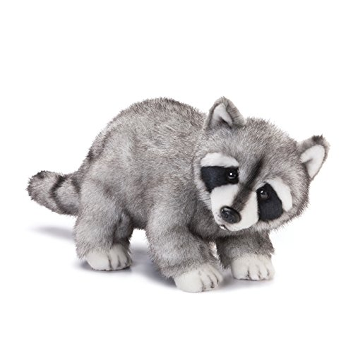 Nat and Jules Crawling Large Raccoon Friend Children's Plush Stuffed Animal Toy