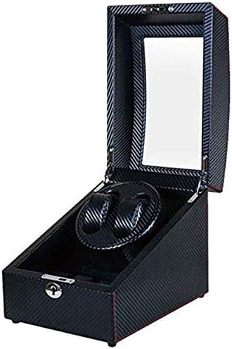 SLM-max Reloj automático de la devanadera, 2 + 3 Tabla Motor eléctrico Giratorio Reloj mecánico de Cuerda Caja, de Gama Alta Reloj Box Collection,A: Amazon.es: Deportes y aire libre