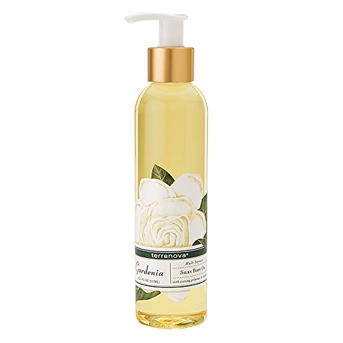 Terranova Gardenia Silky Body Oil 8.25 fl oz Bottle