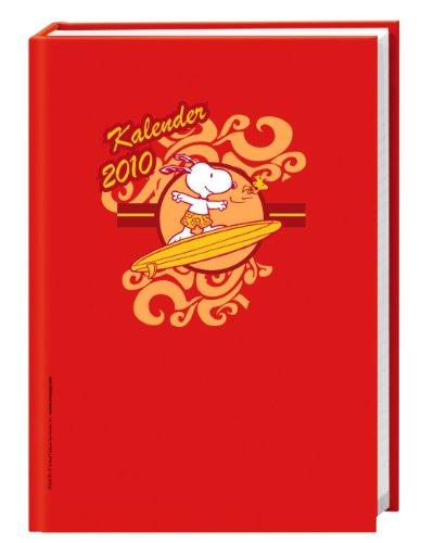 Snoopy Schüleragenda A6 2010: 17-Monats-Kalender