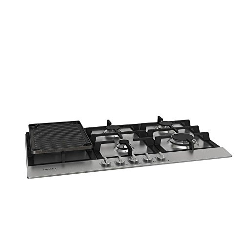 Ancona AN-21019 34″ Gas Cooktop, Stainless Steel