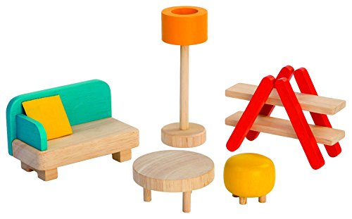PlanToys–PT7347Lounge Furniture for a Doll's House