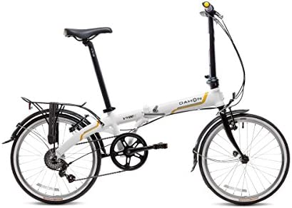 Dahon Vybe C7A - Bicicleta Plegable de 20 Pulgadas, Color Blanco ...