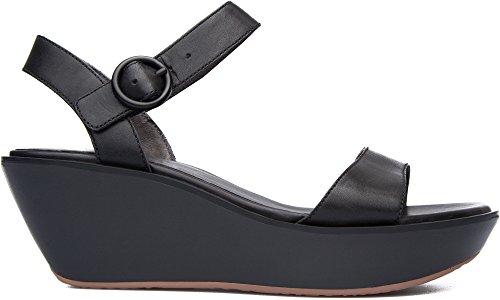 Camper Women's Damas Ankle Strap Sandal, Black, 35 EU/5 M US