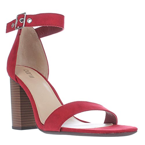 B35 Mikayla Ankle Strap Dress Sandals - Red, 11 US