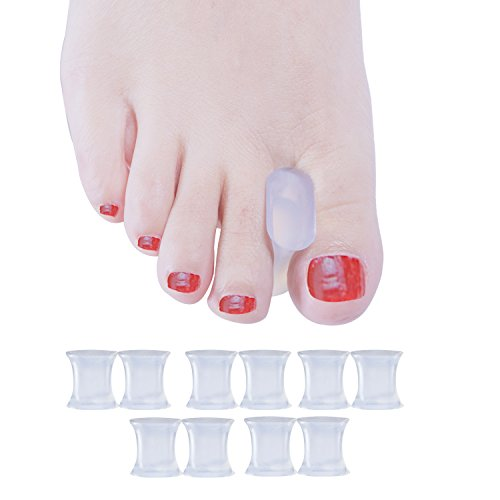 Welnove Gel Toe Spacers Toe Separators for Bunion,Overlapping Toes-10 PCS by Welnove (Image #8)