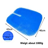 Gel Seat Cushion,Double Thick Seat Cushion with 2