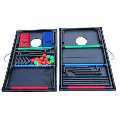 Triumph 2-In-1 Tournament Bag Toss and Ladder Toss Combo