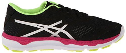Zapatillas De Running Asics Mujeres 33-fa Onyx / Hot Pink / Flash Yellow