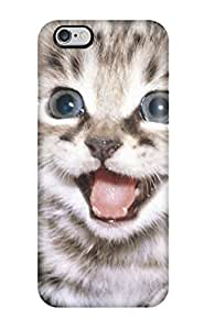 High-quality Durable Protection Case For Iphone 6 Plus(happy Cat )