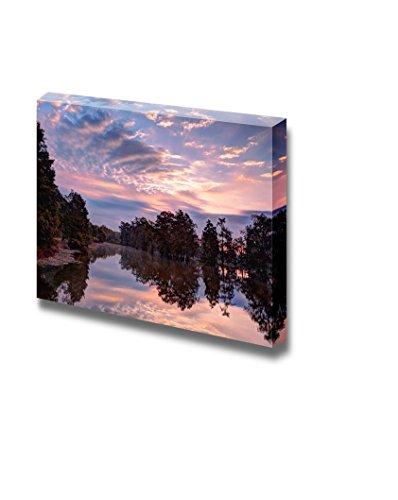 Beautiful Scenery Landscape Sunrise on Lake Martin Breaux Bridge Louisiana in the Heart of Cajun Country Nature Beauty Wall Decor ation