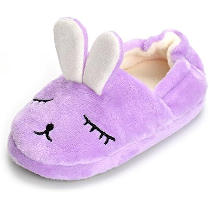 ESTAMICO Toddler Girls' Bunny Slipper