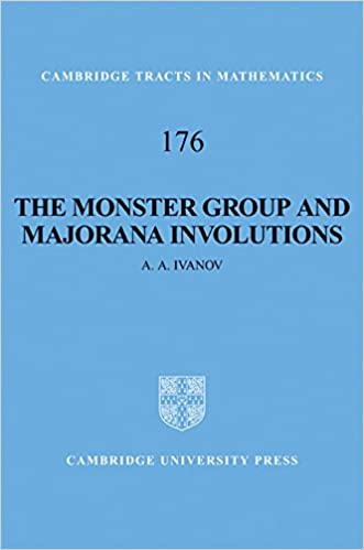 The Monster Group And Majorana Involutions (Cambridge Tracts In Mathematics) Free Download