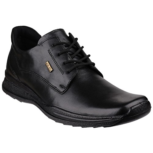 Cotswold Mens Dudley Lace Up Leather Oxford Shoes Black