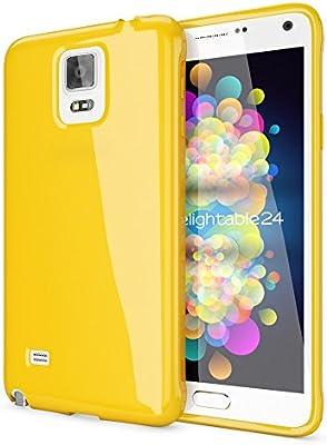 NALIA Funda Compatible con Samsung Galaxy Note 4, Ultra-Fina Gel Protectora Movil Carcasa Silicona Telefono Bumper, Ligera Goma Cubierta Jelly ...