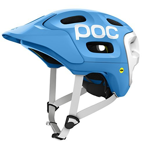 POC Trabec Race MIPS Bike Helmet, Radon Blue, Medium/Large by POC