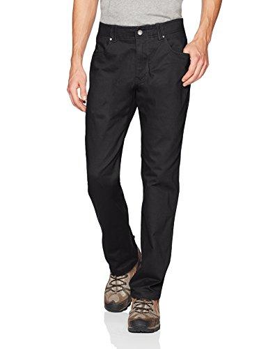 Columbia Men's Pilot Peak 5 Pocket Pant, Black, 34x34 (Casual Pilot)