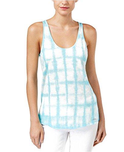 Calvin Klein Womens Medium Tie-Dyed Tank Knit Top