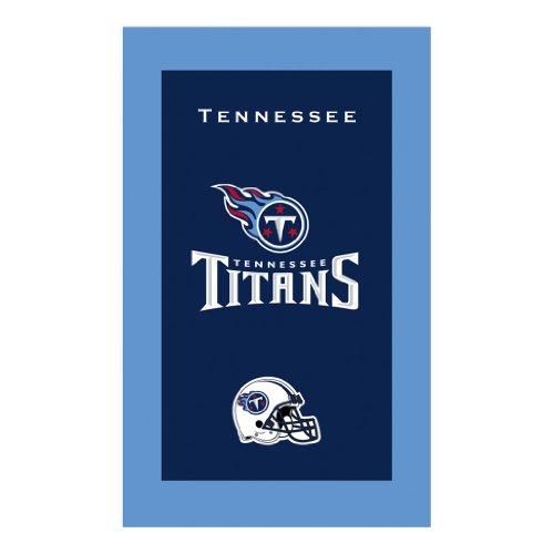 KR Strikeforce Bowling Bags Tennessee Titans NFL Licensed Towel by KR - Nfl Team Bowling Towel