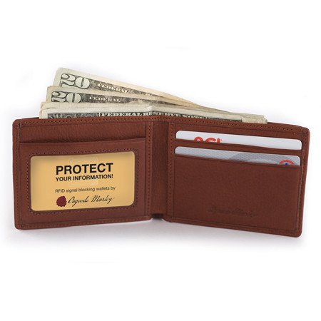 Osgoode Marley Ultra Mini RFID Wallet Brandy ()