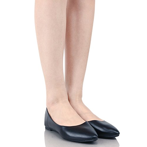 Pictures of Guilty Shoes Angie-52 Black Pu 7.5 B(M) US Black Pu 2