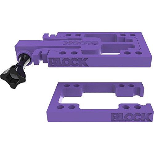 Block Riser Goblock Risers Kit Purple (Connect GoPro's Hero¨ to your Skateboard)