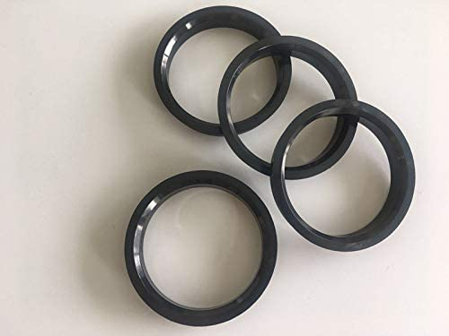 Hubcentric Center Ring Fits 65.1mm Vehicle Hub to 70.4MM Wheel Centerbore NB-AERO Pack of 4 Polycarbon Hub Centric Rings 70.4mm OD to 65.1mm ID