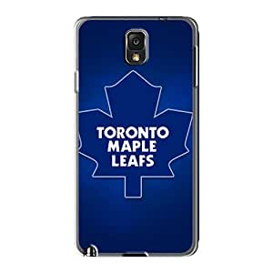 Samsung Galaxy Note 3 QVQ27574IrPN Provide Private Custom Trendy Toronto Maple Leafs Series Shockproof Hard Phone Case -RichardBingley