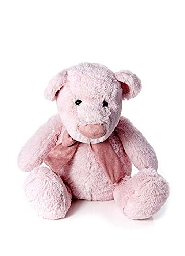 Amazon Com Super Soft Pink First Plush Teddy Bear Soft Toy For Baby