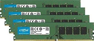 Crucial 64GB Kit (16GBx4) DDR4 2666 MT/s (PC4-21300) DR x8 DIMM 288-Pin Memory - CT4K16G4DFD8266 (B0752DVM47) | Amazon price tracker / tracking, Amazon price history charts, Amazon price watches, Amazon price drop alerts