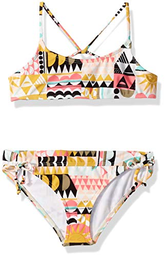 Billabong Girls' Mod Love Tali Bikini Set Multi 14 ()