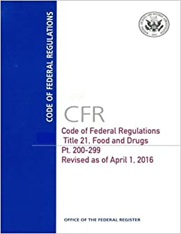 Cfr Le 40 Parts 260 265 Revised July 2016 Code Of Federal Regulations